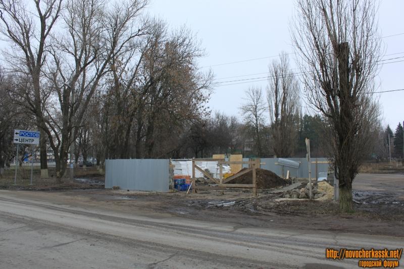 Строительство на улице Сарматской