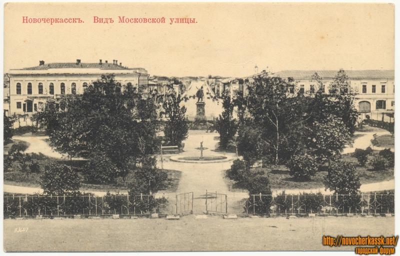 «Вид Московской улицы»