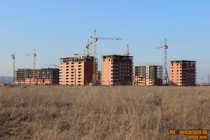 Строительство ЖК в микрорайоне Восточный (улица Поворотная)