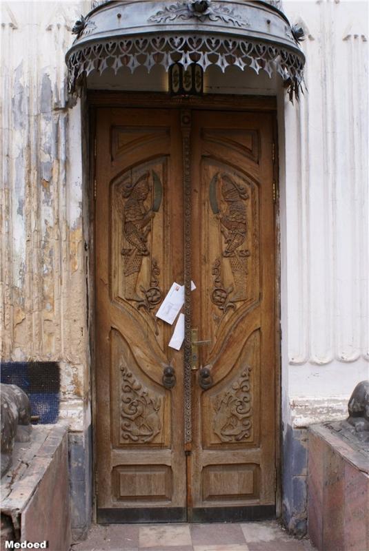 Улица Бакунина, 10. Дверь