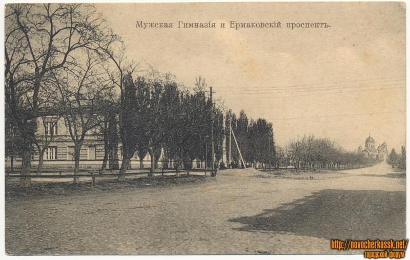«Мужская гимназия и Ермаковский проспект»