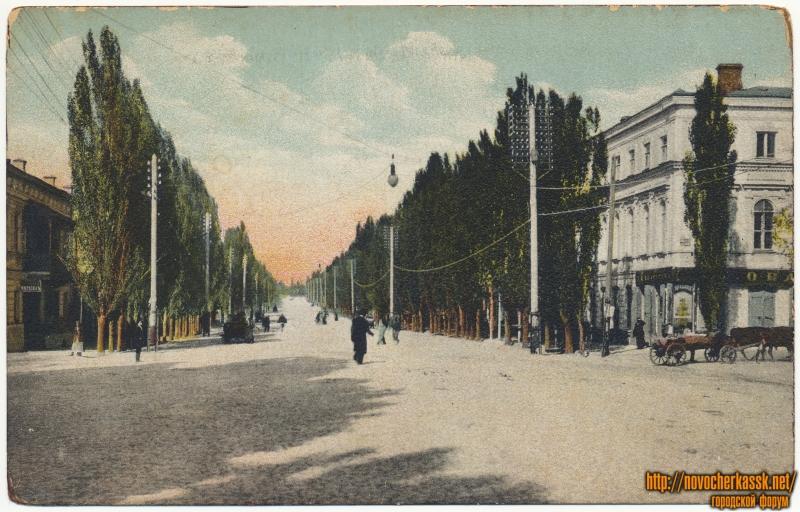 «Московская улица». Пересечение с улицей Комитетской