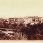 Вид с торговых рядов на улицу Дворцовую и атаманский дворец