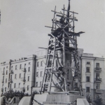 Реставрация памятника Ермаку