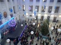 Новогоднее представление в крытом дворе ЮРГПУ (НПИ)
