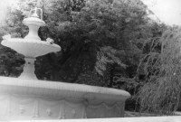 Фонтан в Александровском саду. 1987 год