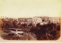 Вид на улицу Дворцовую и атаманский дворец