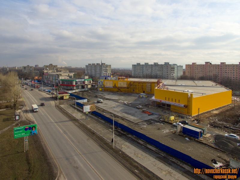 Проспект Баклановский в районе Автовокзала
