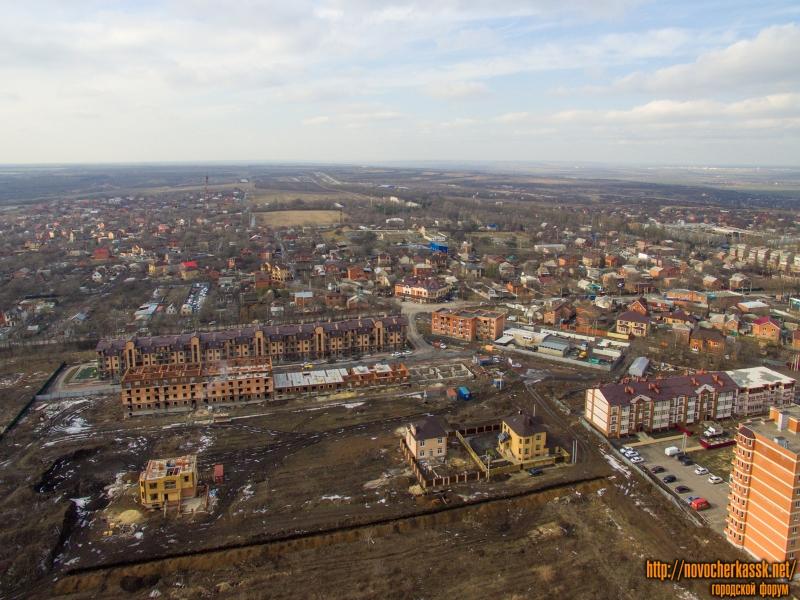 Строительство в районе пересечения ул. Ященко и ул. Сарматской