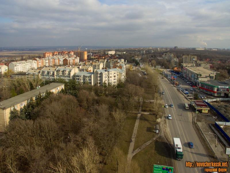 Жилая застройка в районе пр. Баклановского, 180 и проспект Баклановский