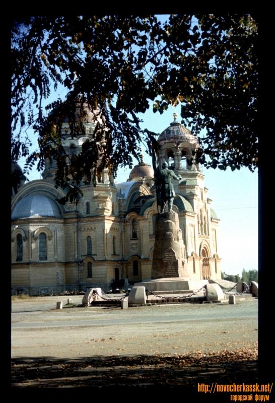 Площадь Ермака, памятник Ермаку, собор