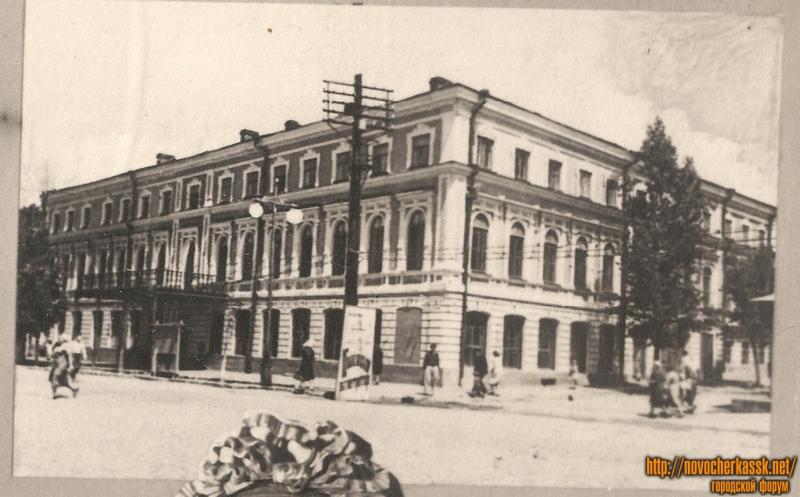Угол Московской и Комитетской. 1940-е
