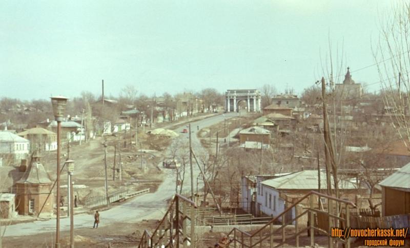 Проспект Платовский. Весна 1984 года