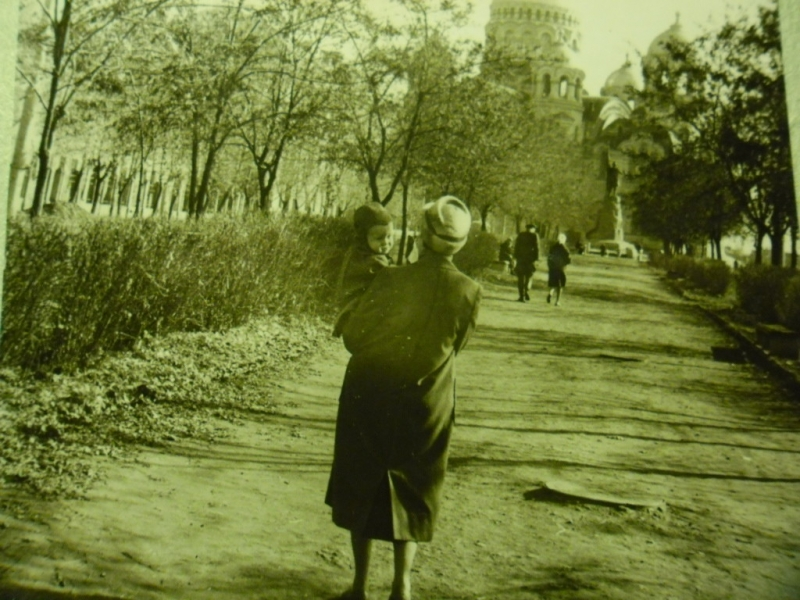 Аллея пр. Ермака, 1963 г.