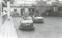 Автомобильный аттракцион в детском парке