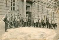 1935 г. Лыжники