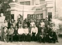 Август 1956 г. В/ч 13822 (31 завод)