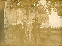 Сквер перед собором. Ноябрь 1938 г.