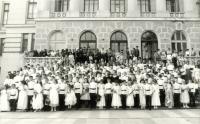 16 мая 1993 года. Кадетский бал в главном корпусе НПИ. Участники