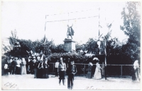Памятник Платову. 1912 год