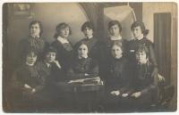 Ученицы гимназии Дувакиной