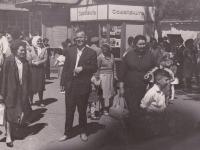 Киоск «Союзпечать» на конечной остановке городского трамвая