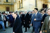 Приезд Б. Н. Ельцина 11 июня 1996 года