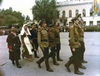 Торжества, посвященные воссозданию памятника атаману М.И. Платову