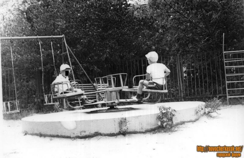 Александровский сад. Аттракционы