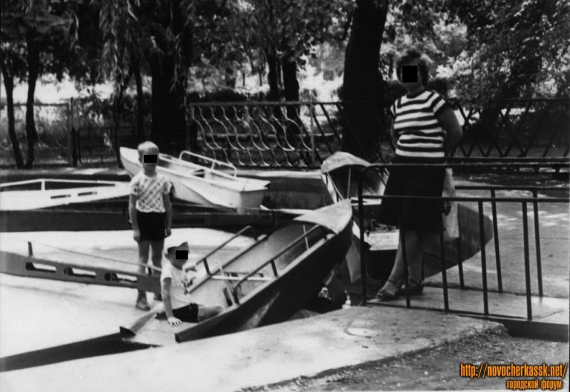 «Лодочки» в городском парке