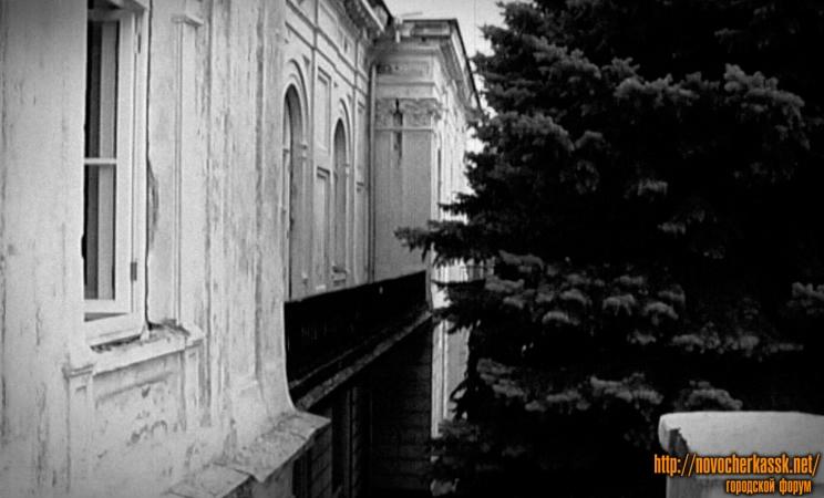 Атаманский дворец. Вид на фасад с балкона