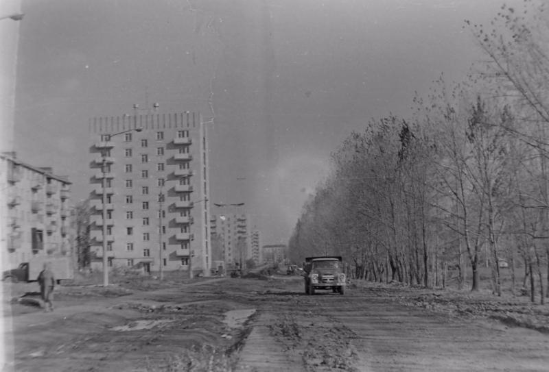 Черёмушки. Пр. Баклановский, дома 154 и 152. 1973 год