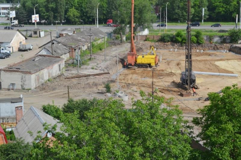 Строительство ТЦ на месте хлебзавода