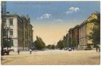 «Атаманская улица». Вид на пересечение с Платовским проспектом