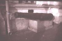 Пушка перед музеем
