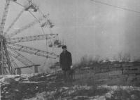 Старое колесо обозрения (предположительно 1974 г.)