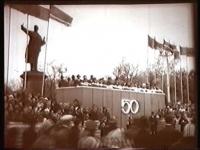 Трибуна перед памятником Ленину. 1967 год