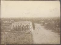 Вид с Троицкой Церкви на улицу Московскую