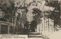 Выход из городского парка в сторону Атаманского дворца. 1954 год