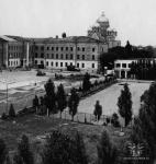 Вид в сторону собора с территории училища связи