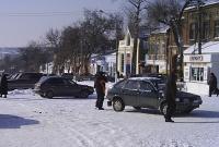Проспект Платовский в районе Азовского рынка. 2007 год