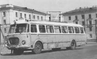 Проспект Баклановский. В настоящее время на этом месте - площадь Юбилейная. Автобус