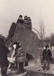 Горка-слон в детском парке