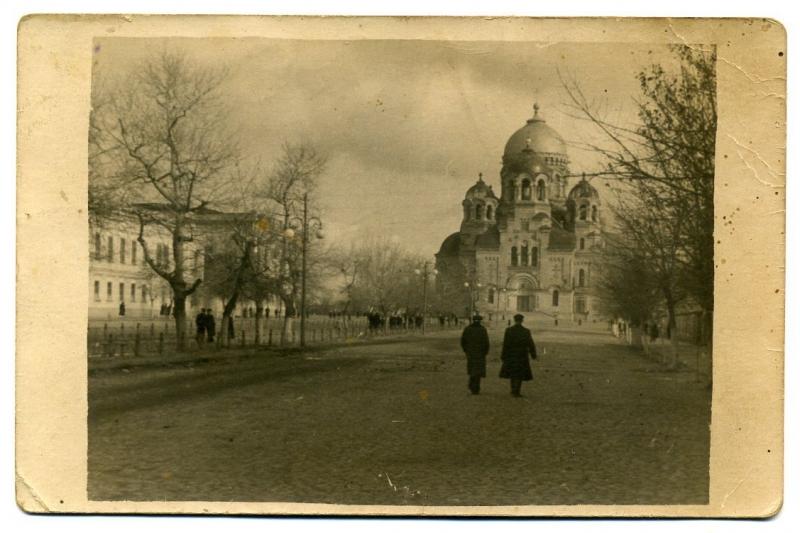 Проспект Подтелкова. 8 ноября 1950 г