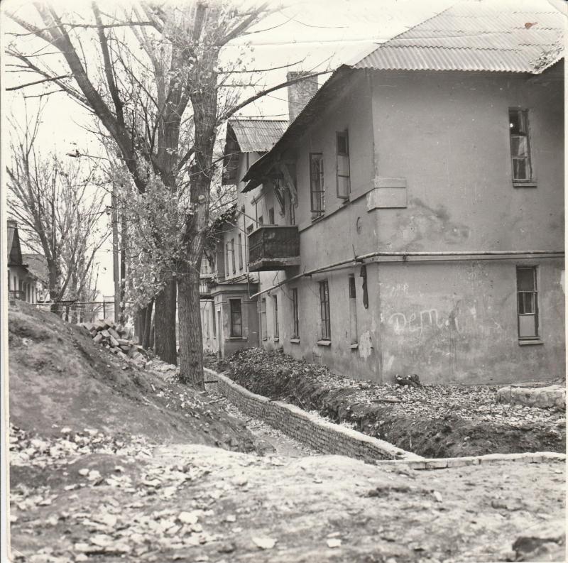 Ул. Восточная, дом №10. 1985 год