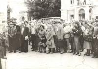 «День памяти» в Новочеркасске. Траурный митинг 2 июня 1991 г.