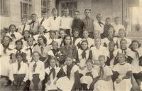7А класс 19 средней школы, 1957 г.