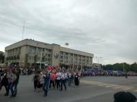 Бессмертный полк. 2018 год. Проспект Платовский