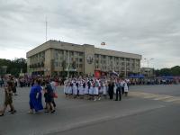 Бессмертный полк. 2018 год. Проспект Платовский. Медсёстры