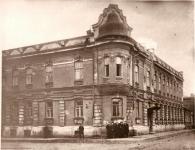 Здание школы номер 5. Угол Горбатой и Атаманской